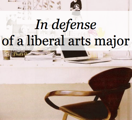 Liberal Arts about me best