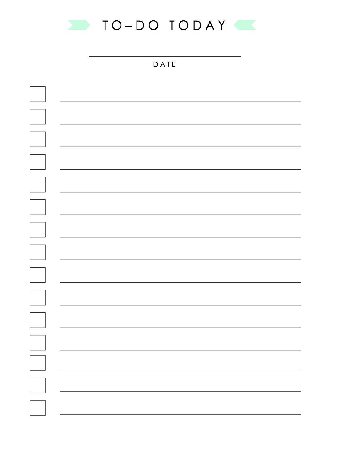 1000 images about diy printables on pinterest for Diy to do list template