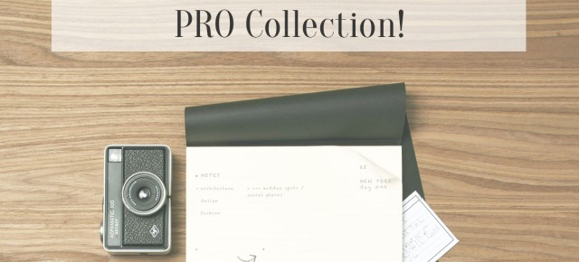 What We Love: Moleskine's New PRO Collection!